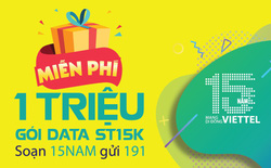 Viettel đang tặng người dùng 3GB truy cập Internet miễn phí, áp dụng cho tất cả các loại thuê bao