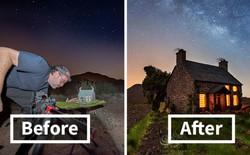 """Ngắm những """"ánh trăng lừa dối"""" tuyệt đẹp từ nghệ thuật chụp ảnh thiên văn bằng tiểu cảnh"""