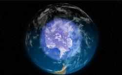 Lỗ thủng tầng ozone ở Nam Cực vừa thu hẹp nhất kể từ khi nó được phát hiện cách đây 50 năm
