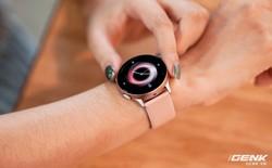 Trên tay Galaxy Watch Active 2: Viền xoay cảm ứng, hai cỡ màn hình, đặt hàng trước tặng tai nghe 3.5 triệu