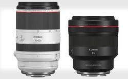 Canon công bố ống kính 70-200mm f/2.8L IS và 85mm f/1.2L DS IS cho máy ảnh không gương lật RF