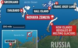 Bất ngờ phát hiện thêm 5 hòn đảo mới tại Bắc Cực do băng tan