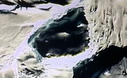 Một người dùng Google Earth tin rằng mình đã phát hiện ra 'hộp sọ khổng lồ' tại Nam Cực