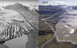 Những hình ảnh gây sốc cho thấy sông băng ở Iceland biến mất nhanh chóng như thế nào