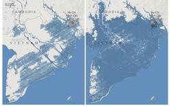 Nghiên cứu đăng trên Nature dự báo nước biển dâng sẽ nhấn chìm toàn bộ miền nam Việt Nam vào năm 2050