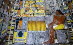 Hình ảnh tuyệt đẹp bên trong lăng mộ cổ 4.000 năm tuổi của Ai Cập