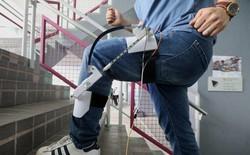 Máy phát điện gắn vào chân có thể sạc Apple Watch trong khi bạn đi bộ