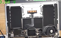 Apple MacBook Air 2019 có tản nhiệt và quạt không kết nối với nhau dẫn đến hỏng CPU hoàn toàn
