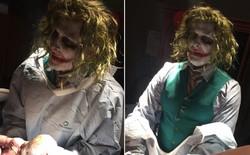 Sản phụ sửng sốt khi được gã hề điên Joker đỡ đẻ cho mình trong đêm Halloween