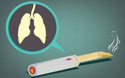 Thuốc lá điện tử không hề an toàn: Đã có bằng chứng cho thấy nó gây ung thư phổi