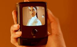 Smartphone màn hình gập Motorola RAZR lộ hình ảnh chính thức