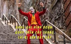 Fan may mắn nhất năm: Được trực tiếp xem cảnh Joker nhảy múa điên loạn trên cầu thang trước khi bom tấn này ra rạp