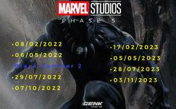 Phase 4 còn chưa bắt đầu, Marvel đã công bố luôn lịch trình Phase 5: Kể từ 2021, fan sẽ được xem 4 bom tấn điện ảnh/năm