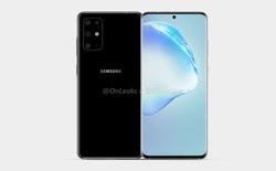 Galaxy S11 lộ ảnh render: Thiết kế màn hình giống Note10, cụm camera hình chữ nhật lồi một cục, ra mắt tháng 2 năm sau