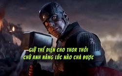 Marvel xác nhận: Captain America có thể nâng búa của Thor từ lâu rồi, chẳng qua là cậu ấy không thích thôi