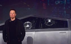 Elon Musk giải thích lý do vì sao cửa kính Cybertruck bị vỡ trong màn trình diễn