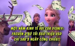 """Disney lại """"trúng đậm"""": Frozen 2 trở thành phim hoạt hình có doanh thu mở màn cao nhất mọi thời đại dù bị đánh giá thua xa phần 1"""
