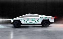 Đội tuần tra toàn siêu xe của cảnh sát Dubai sẽ có thêm thành viên mới là Tesla Cybertruck