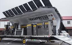 Mời bạn gặp gỡ Trashpresso, cỗ máy tái chế nhựa di động vận hành bằng năng lượng Mặt Trời