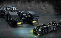 Lego ra mắt bộ sản phẩm xe Batmobile kỷ niệm bộ phim Batman năm 1989, có tới 3306 mảnh ghép