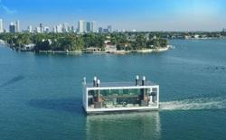 Ngắm biệt thự siêu sang dưới thân hình một du thuyền trên biển có giá lên tới 5,5 triệu USD