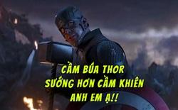 """""""Captain America"""" Chris Evans: Lần đầu cầm búa Thor sướng hơn cầm khiên Vibranium nhiều"""