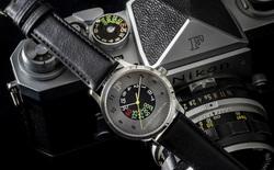 Nikon công bố đồng hồ cơ mừng sinh nhật 60 năm của máy ảnh Nikon F huyền thoại