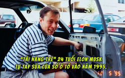 Nghe cư dân mạng bảo con trai không biết gì về ô tô, mẹ Elon Musk đăng ảnh ông đang sửa cửa kính ô tô từ tận 24 năm trước