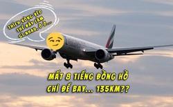Phát cáu với chuyến bay vòng vèo nhất năm: Bay chán chê suốt 8 tiếng xong hạ cánh cách điểm xuất phát 130km, trong khi đích đến vẫn xa tít hơn 6000km