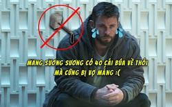 Suốt ngày vác búa Thor về bày chật cả nhà, Chris Hemsworth bị bà xã cấm tiệt không cho mang đạo cụ phim về nữa