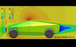 """Anh YouTuber làm bài thử khí động lực học cho xe Cybertruck: hóa ra """"cục gạch 4 bánh"""" này xé gió vút đi dễ dàng hơn bạn tưởng!"""
