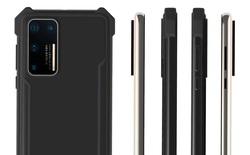 Lộ ảnh thiết kế Huawei P40 Pro, giống hệt Samsung Galaxy S11