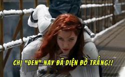 """Fan Marvel phát cuồng sau trailer Black Widow: Góa phụ đen """"đổi gió"""" mặc đồ trắng kìa bà con ơi!"""
