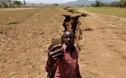 """Mưa lớn khiến bề mặt Châu Phi lộ vết nứt khổng lồ, dấu hiệu cho thấy Lục Địa Đen sẽ """"sớm"""" tách ra làm đôi"""