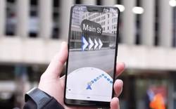Google đã mở thử nghiệm tính năng thực tế tăng cường (AR) cho Google Maps