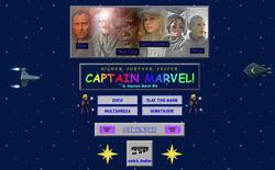 Marvel công bố website cổ điển, đầy sắc màu và vui vẻ để quảng cáo phim Captain Marvel