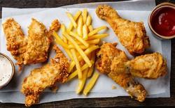 Nghiên cứu chỉ ra ăn nhiều gà rán và cá rán làm tăng nguy cơ tử vong sớm tới 13%