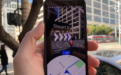 Dùng thử tính năng thực tế ảo tăng cường của Google Maps: đổi từ nhìn bản đồ 2D sang 3D có gì khác?