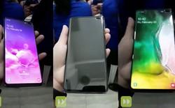 Galaxy S10 Plus lộ video trên tay, xác nhận cảm biến vân tay không hoạt động với miếng dán màn hình