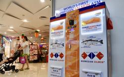Singapore ra mắt cây ATM rút được... cá hồi, 2 lạng hết một trăm rưởi