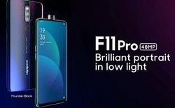 OPPO ra mắt teaser đầu tiên của F11 Pro với thiết kế không viền ấn tượng và camera pop-up