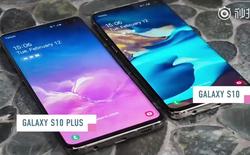 Chưa ra mắt nhưng Galaxy S10 và S10+ đã có video trên tay rõ nét, xác nhận thiết kế và tính năng mới