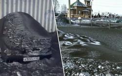 Hiện tượng kỳ lạ: Tuyết có màu đen rơi ở Siberia