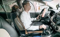 """Người thiết kế """"vách ngăn bảo vệ"""" cho tài xế taxi ở Hà Nội: Mình quan tâm nhất là tính mạng của họ, vì mình cũng từng là tài xế!"""