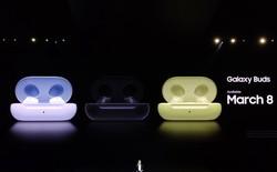 Samsung ra mắt tai nghe true wireless Galaxy Buds: Bluetooth 5.0, sạc không dây, tinh chỉnh bởi AKG, giá tương đương AirPods