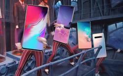 """Samsung khéo léo che đi """"nốt ruồi"""" trên màn hình Galaxy S10 bằng hình nền"""