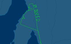 """Phải bay thử 3 tiếng, phi công chán nản viết lên trời chữ """"TÔI CHÁN"""" và vài thứ khác nữa"""