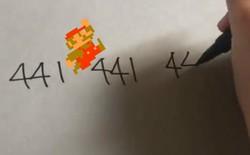 Chỉ có thể là Nhật: Viết xuống giấy mấy con số, có ngay nhạc nền Super Mario