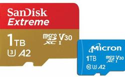 [MWC 2019] Micron và SanDisk ra mắt thẻ nhớ microSD dung lượng 1TB