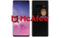 Galaxy S10 sẽ được cài đặt sẵn phần mềm diệt virus của McAfee